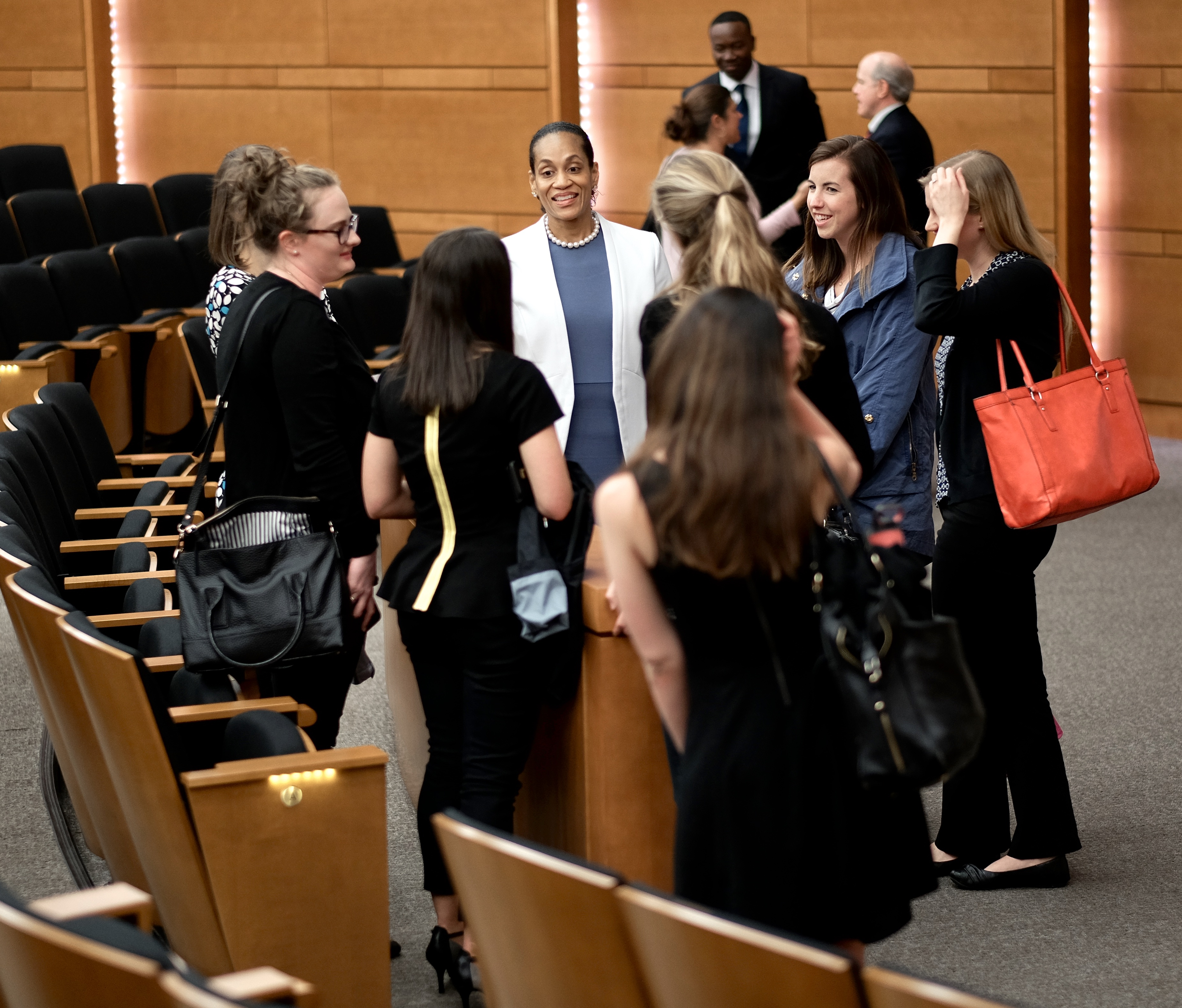 Wake Forest University School of Business held the MA Management ALP event in Broyhill Auditorium 5/5/16.