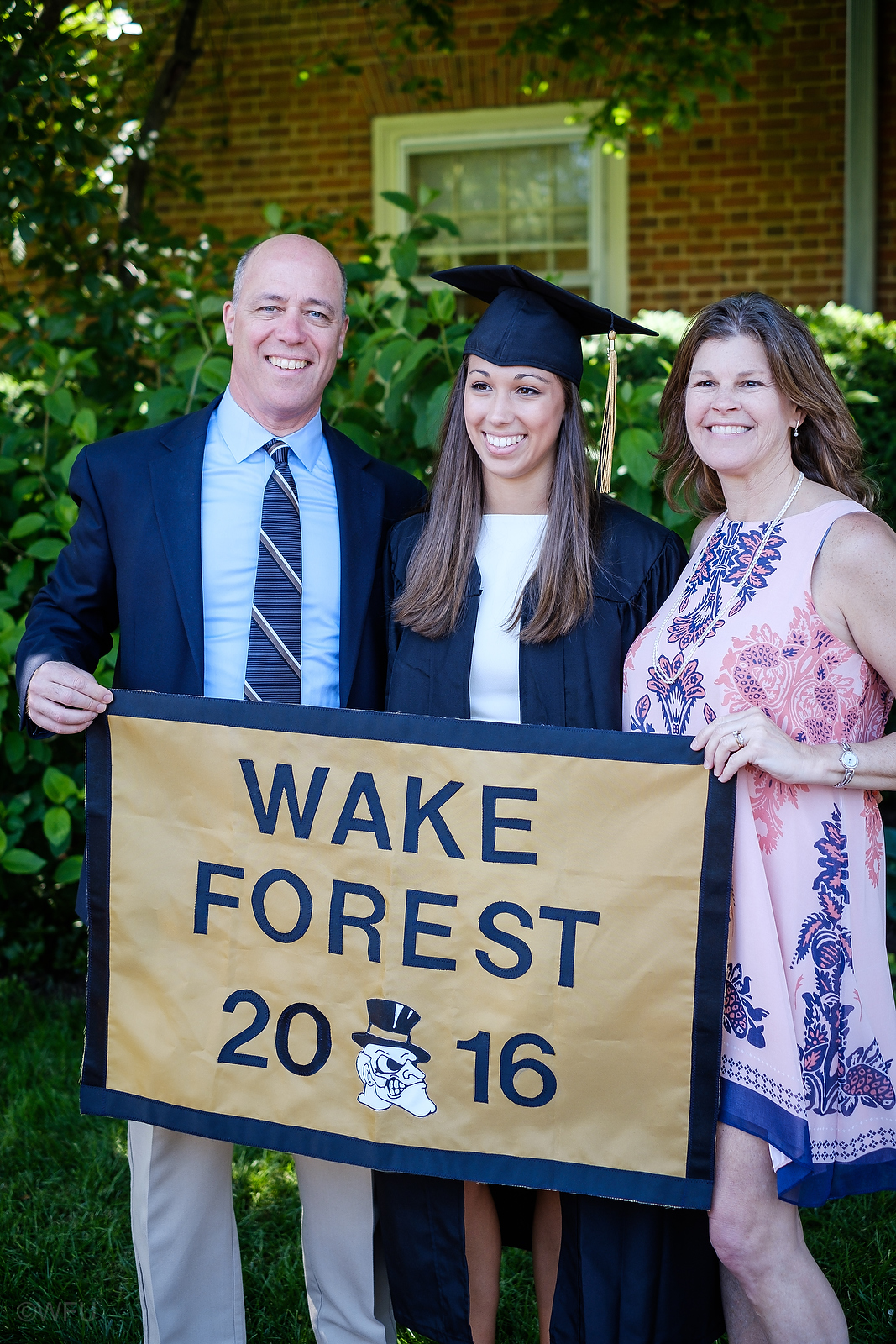 Wake Forest University hosts the 2016 Commencement Ceremony on Hearn Plazas