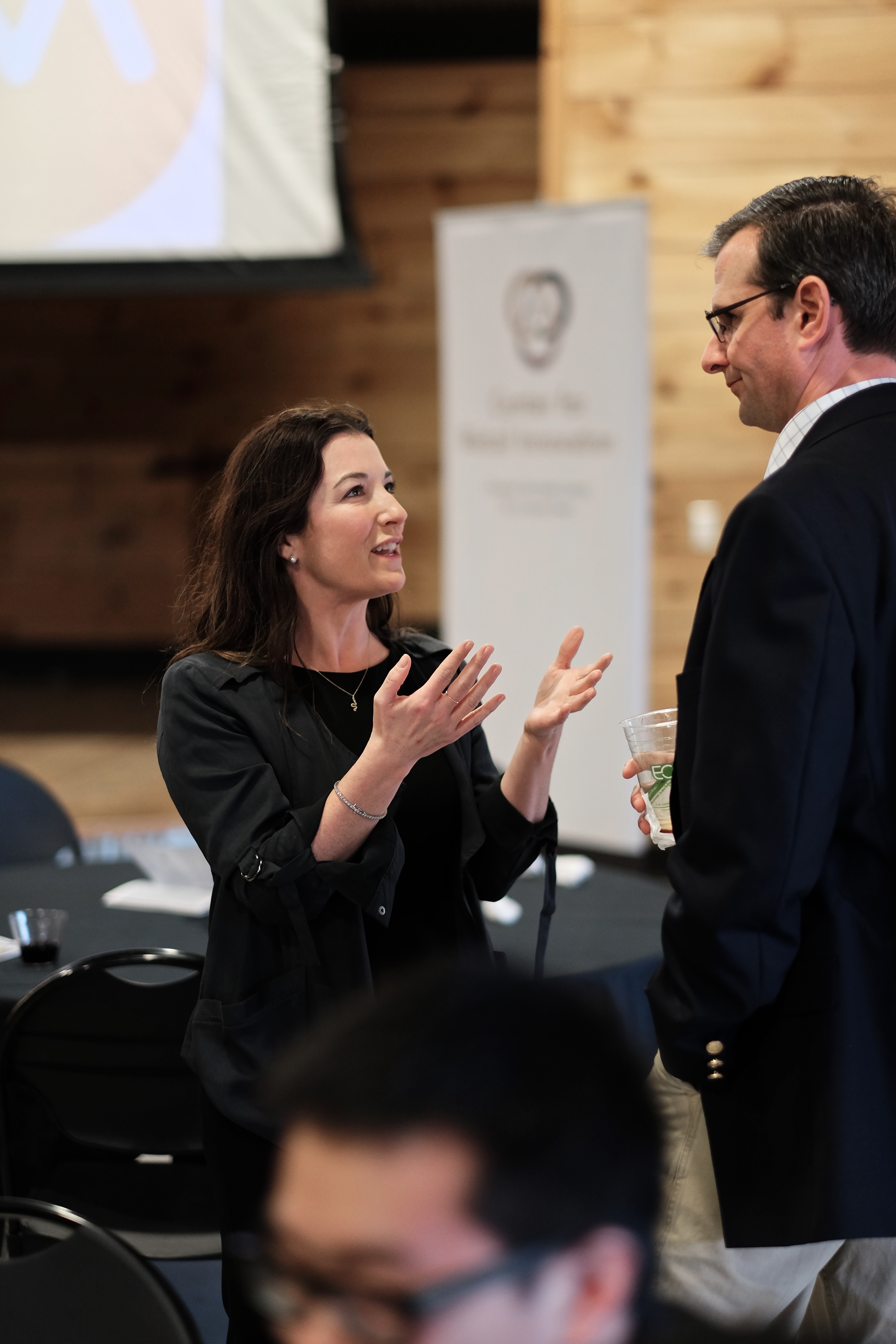The 2016 Marketing Analytics Summit / Inmar Analytics Forum held their reception and dinner in the Barn on the WFU Campus.